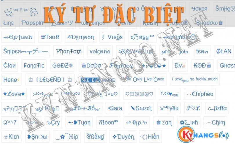 10.000 Kí Tự Đặc Biệt Đẹp Để Đặt Tên Trong Game PUBG Mobile FreeFire AU LOL Liên Quân CF Zalo Facebook ... 1 810x499 - Kí Tự Đặc Biệt Đẹp Để Đặt Tên Trong Game PUBG, FreeFire, AU, Liên Quân, Facebook