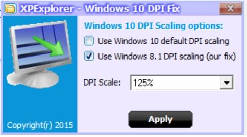 window 10 dpi fix - Sữa lỗi chữ bị mờ của ứng dụng với màn hình máy tính độ phân giải cao