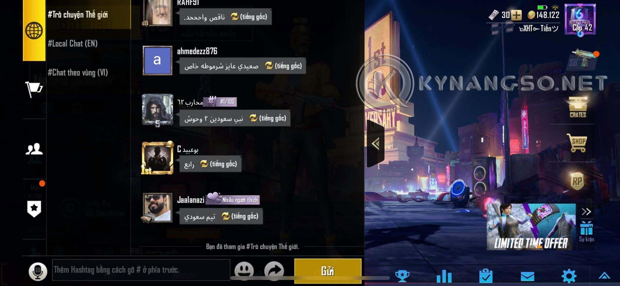 Hướng Dẫn Đổi Tên Ký Đặc Biệt Trong Game PUBG Mobile bằng Điện Thoại 1 - Hướng Dẫn Đổi Tên Ký Đặc Biệt Trong Game PUBG Mobile bằng Điện Thoại