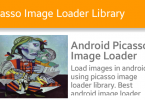 Thư viện Picasso Load ảnh trong Android từ URL 145x100 - Thư viện Picasso - Load ảnh trong Android từ URL