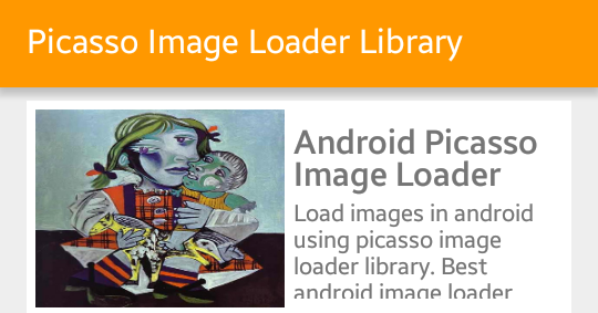 Thư viện Picasso Load ảnh trong Android từ URL - Thư viện Picasso - Load ảnh trong Android từ URL