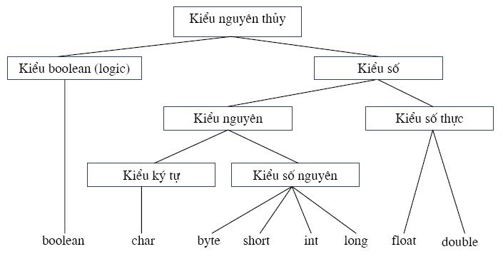 cac kieu du lieu trong java - [Bài 2] Các kiểu dữ liệu trong java