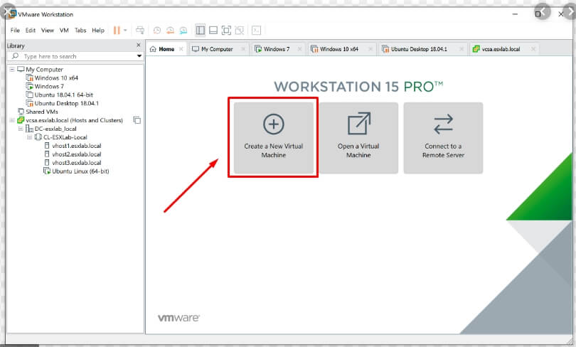 H%C6%B0%E1%BB%9Bng d%E1%BA%ABn c%C3%A0i %C4%91%E1%BA%B7t macOS 10.15 Catalina l%C3%AAn Windows 10 b%E1%BA%B1ng VMware  Workstation create a new virtual machine 1 - Hướng dẫn cài đặt macOS 10.15 Catalina lên Windows 10 bằng VMware