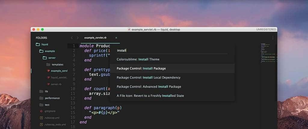Sublime Text 3 Build 3143 Full Active Key 2020 %E2%80%93 Trinh soan thao code tot nhat 2 - Sublime Text 3  Build 3143 Full Active Key 2020 - Trình soạn thảo code tốt nhất