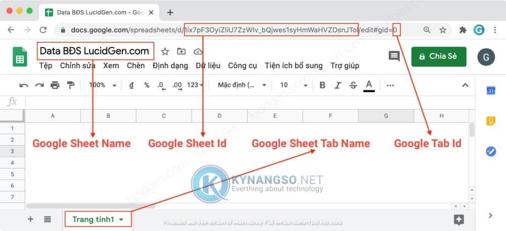 Huong dan ket noi Contact Form 7 voi Google Sheet trong Wordpress STEP6 - Hướng dẫn kết nối Contact Form 7  với Google Sheet trong Wordpress