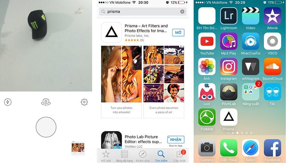 """Prisma - Top 5 phần mềm chỉnh sửa ảnh trên iPhone """"đỉnh"""" nhất năm 2021"""