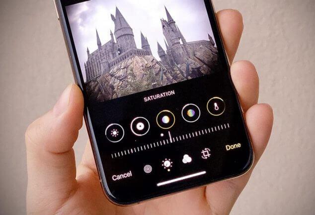 Chỉnh ảnh miễn phí trên Iphone