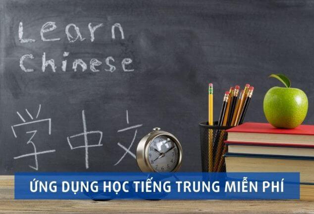 5 ứng dụng học tiếng Trung miễn phí